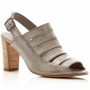 Paul Green Joan Metallic Strappy Heeled Sandals
